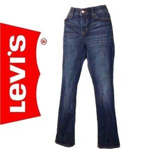 Levi's Perfect Waist 525 Straight Leg Jeans Sz 10M